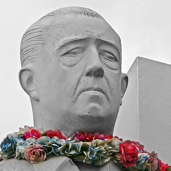 Bustre de Pouvana