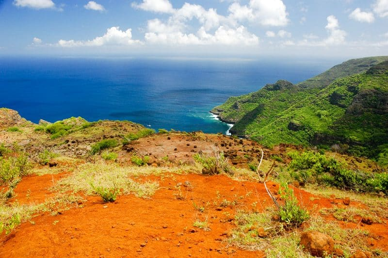 Eiao, aux Marquises, l'île rouge