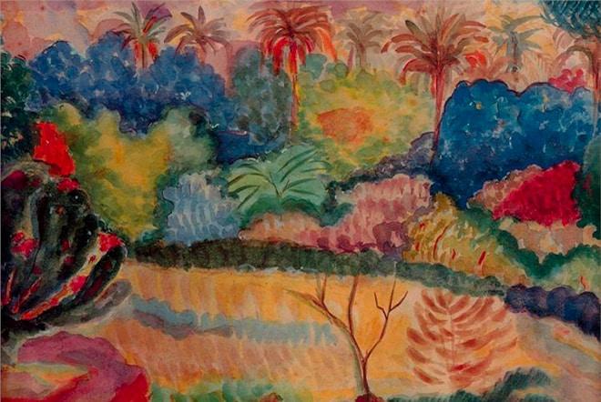 Paul Gauguin, Paysage de Tahiti 1897