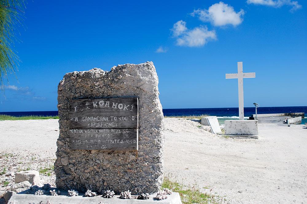 Esplanade de la darse de Napuka © Tahiti Heritage