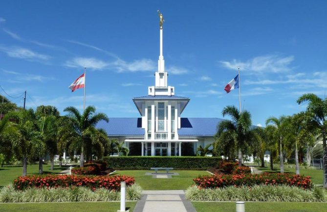 Temple Mormon de Papeete