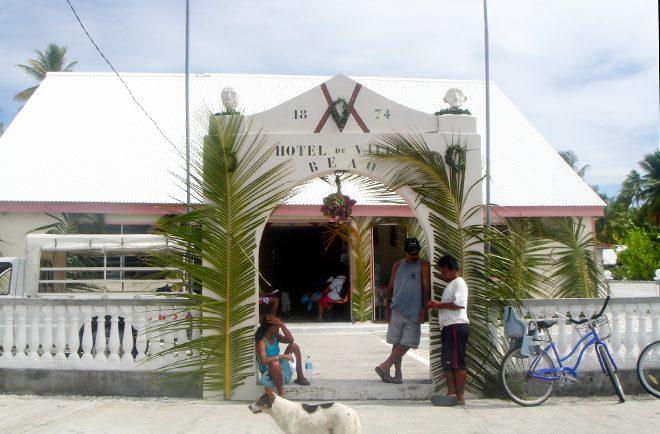 Mairie de Reao, Tuamotu