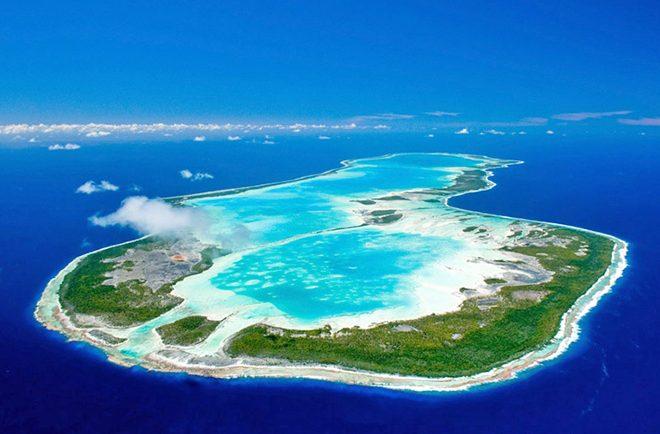 Atoll de Anaa au Tuamotu, Polynésie française