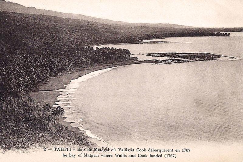 Baie de Matavai vue du Banc du gouverneur
