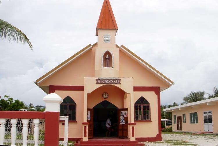 Eglise de Arutua en 2009