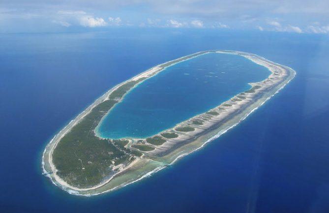 Atoll de Pukarua.