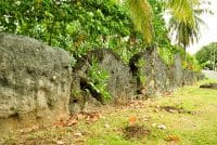 Marae Fare Opu Bora Bora. Photo Elsa Fernicle