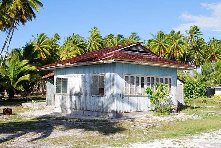 Maison ancienne de Fakahina