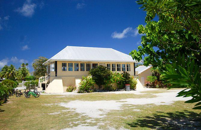 Ecole primaire de Fakarava © Tahiti Heritage