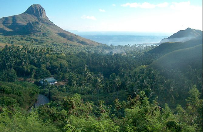 Vallée des rois, Hakahau, Ua Pou, Marquises