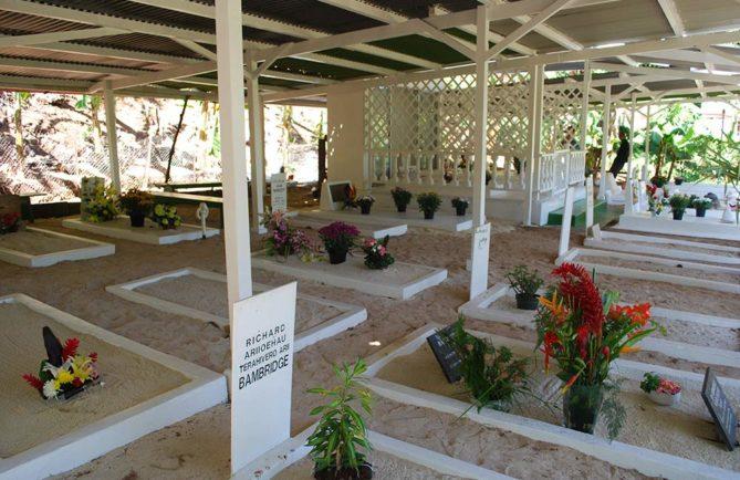 Cimetière Bambridge à Hamuta