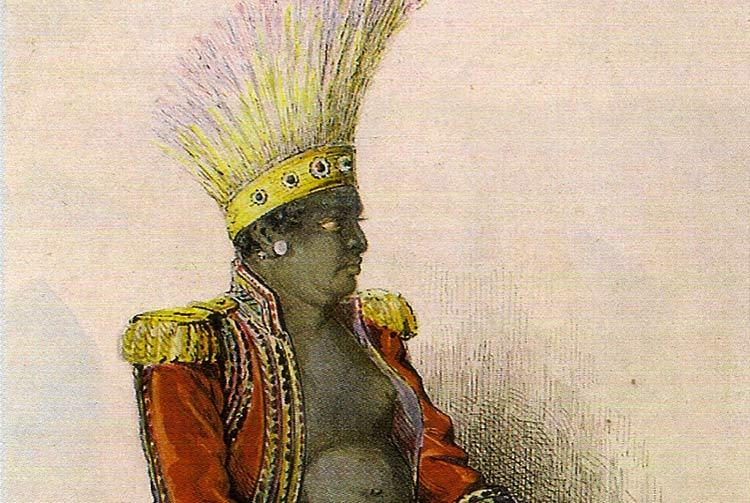 Iotete, le grand chef de Tahuata