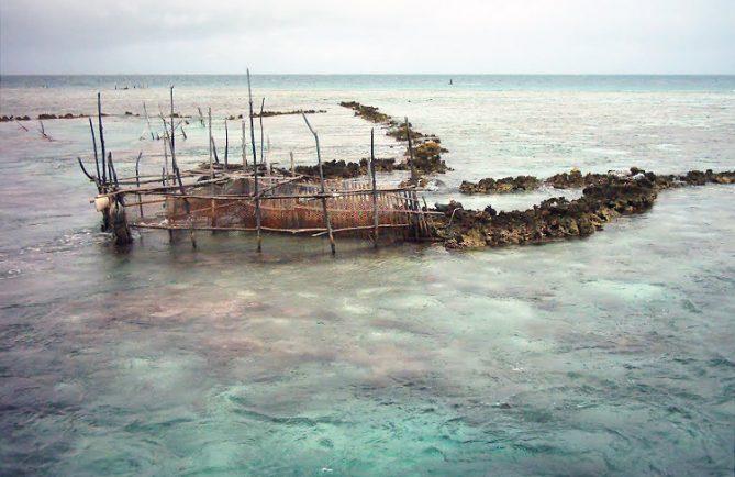 Parc à poissons de Katiu. Photo Mermoz