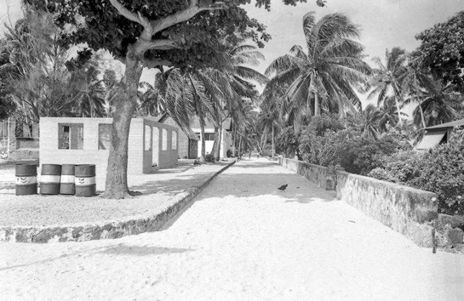 Village de Hitianau de Katiu en 1967