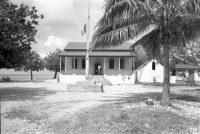 Chefferie, mairie de Makemo en 1967