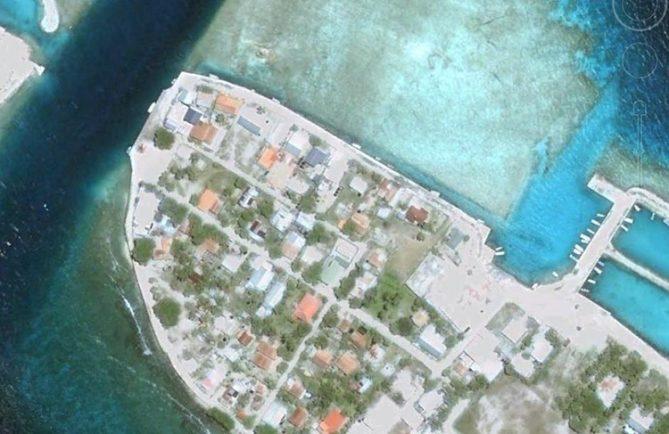 Village de Paeua - Manihi. Photo Google maps
