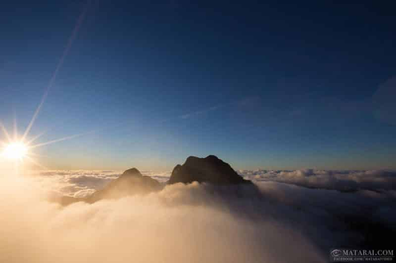 Mont Orohena, Tahiti. Photo Matarai