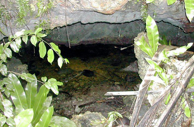 Grotte 1, à Tupana, Niau
