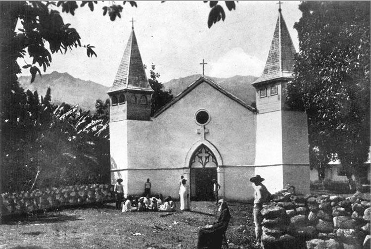 Cathédrale Notre-Dame de Taiohae, Nuku Hiva