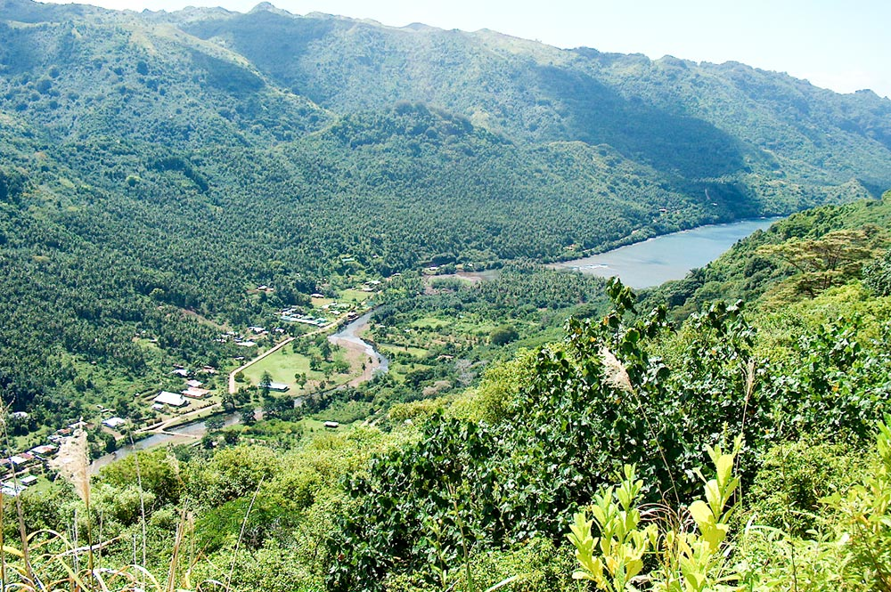 Vallée de Taipivai à Nuku Hiva