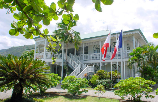 Mairie de Paea, Tahiti en 2003 © Tahiti Heritage