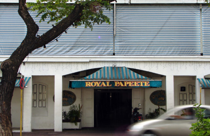 Le Royal Papeete en 2006
