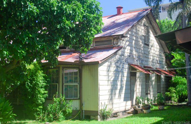 Maison de la reine Marau, à Papeete. © Tahiti Heritage