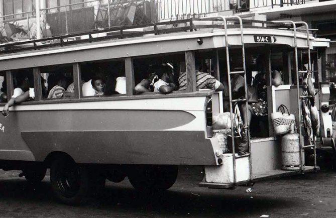 Truck à papeete en 1960