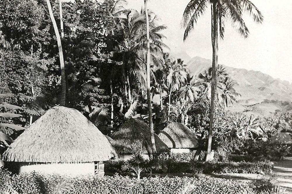 L'hôtel Royal Tahitien à Pirae en 1952