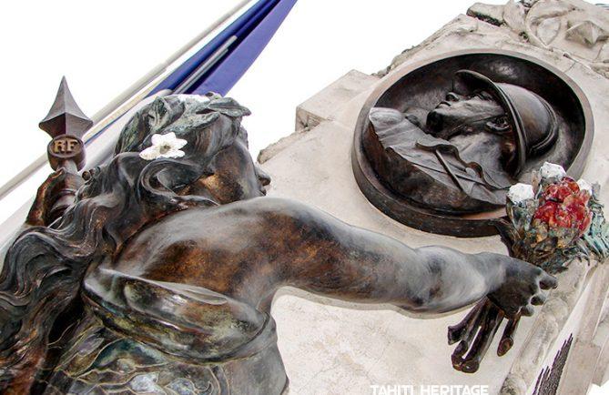 Monument aux morts pour la France de Papeete