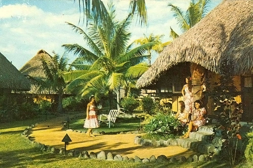 Ancien hôtel Tahiti de Faa'a