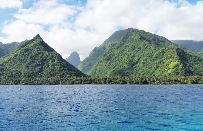 Te pari sur la presqu'île de Tahiti
