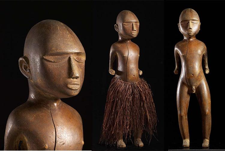 Tiki des Gambier. Musée de Cahors