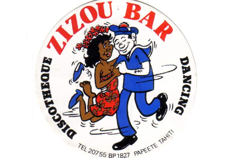 Logo du Zizou bar de Papeete