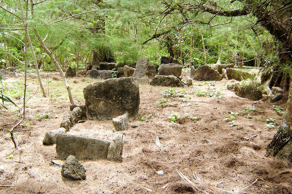 Irirua, le temple du soleil de Rimatara