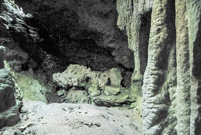 Grotte de Hono à Niau. Photo Diren / Niva