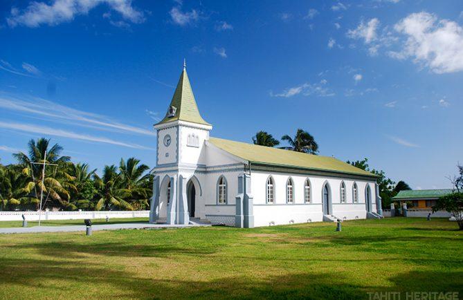 Temple protestant de Haapiti à Moorea. © Tahiti Heritage 2013
