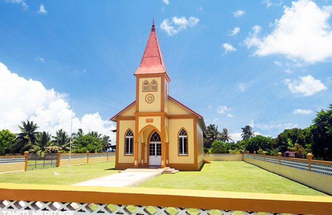 Temple protestant Ebene Ezera de Papenoo, Hitiaa o te Ra.