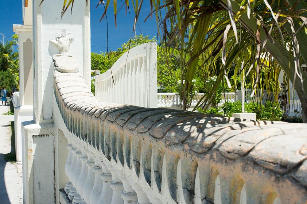 Le viri du nouveau porche de Tiputa en 2016 © Tahiti Heritage