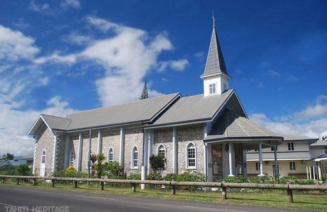Eglise Saint-Jean-Baptiste de Mataiea © Tahiti Heritage
