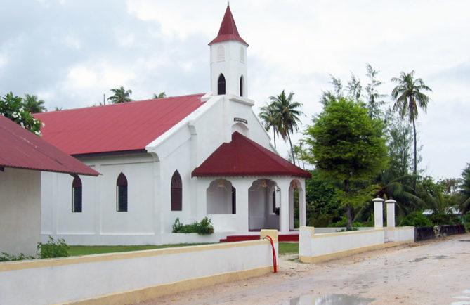 Eglise Saint-Thomas de Tupana - Niau