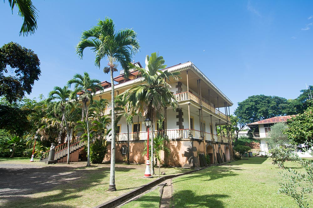 L'évêché de Papeete, Tahiti