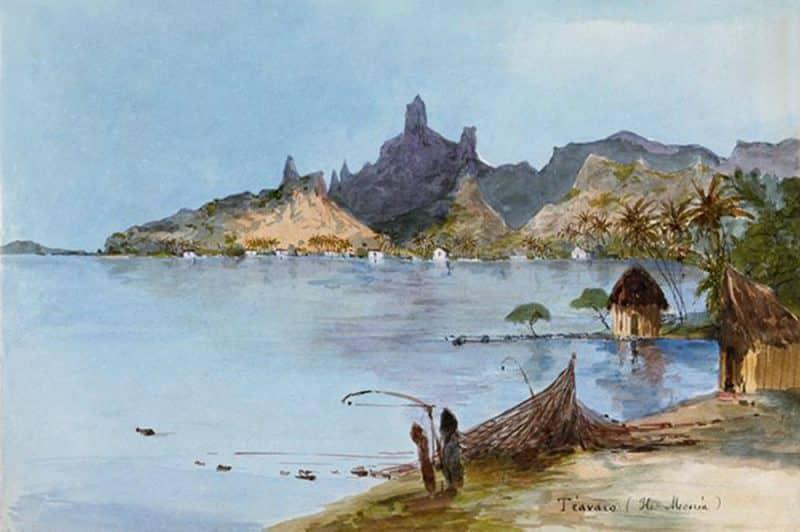 Village de Teavaro à Moorea