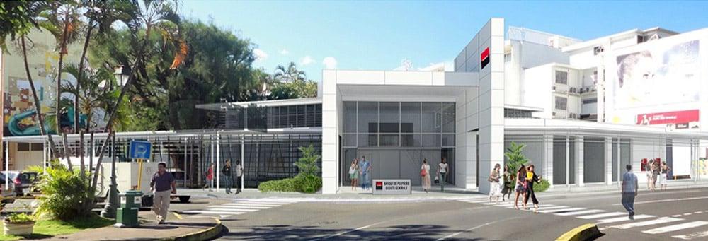 2018 projet de la banque de Polynésie de la Cathédrale de Papeete