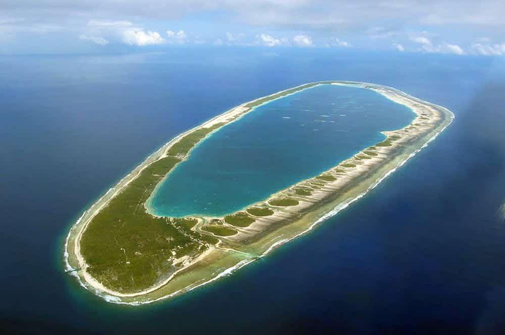 Atoll de Puka Puka. Photo Vuillermoz