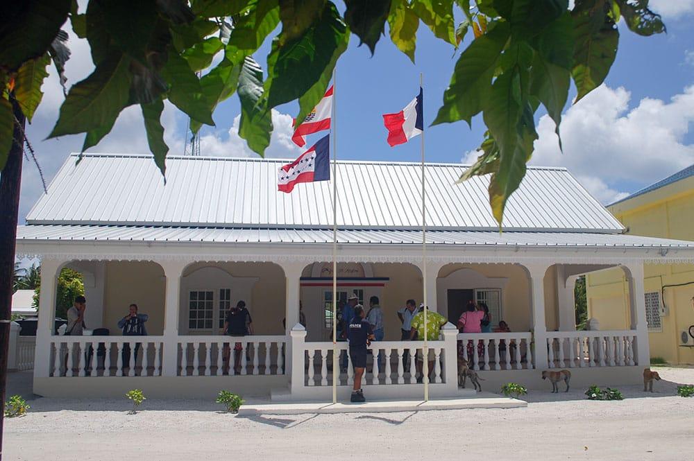 Mairie de Fangatau, Tuamotu
