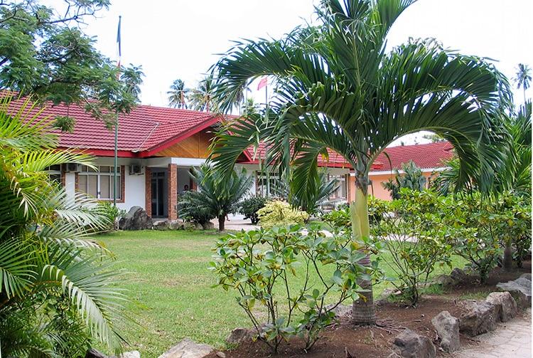Mairie de Huahine, à Fare