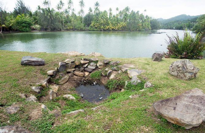 Source du pont de Maeva © Tahiti heritage 2015