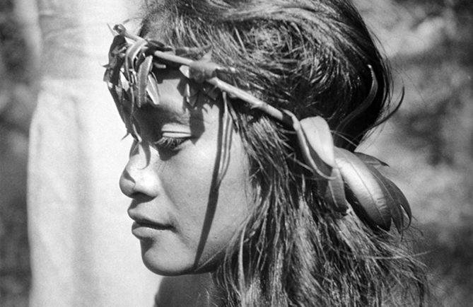 Jeune vahine. Photo Pierre Verger 1934
