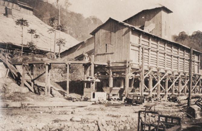 Silots de stockage du phosphate 1920-1930